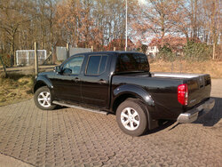 Tönungsfolie Nissan Navara Pick Up
